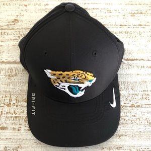 Fitted Black Jacksonville Jaguars Hat
